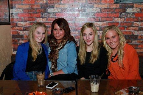Julie, Kamilla, Thea og Sissel Marie