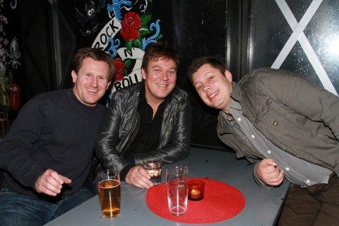 Jørgen, Geir og Kim