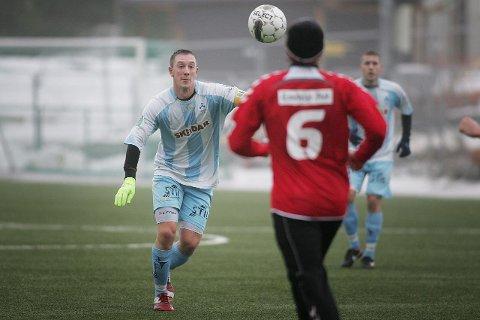 UAVGJORT: Anders Lübeck og Follo FK spilte 1–1 mot FK Tønsberg lørdag. FOTO: CHRISTINE HEIM