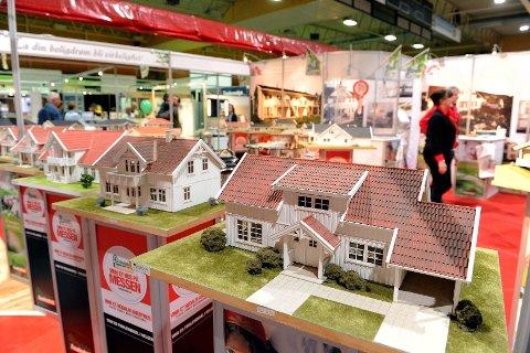 Hos Hedalm Anebyhus kunne du være med å konkurrere om å vinne et splitter nytt hus til en verdi av én million kroner. Foto: Per Langevei
