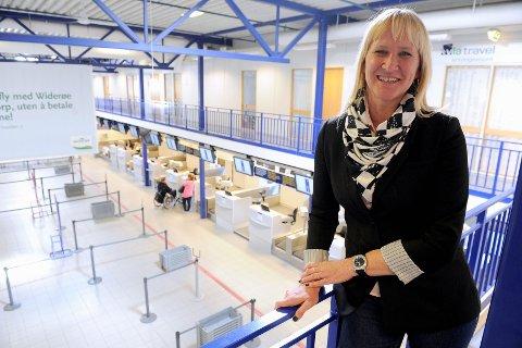 Kjapp innsjekk, enkel ankomst, oversiktlig flyplass og nærhet til hjem og bedrift, er momenter som gjør Sandefjord Lufthavn Torp til den klart mest foretrukne avreiseflyplassen for bedrifter og selskaper på tur, mener Kari-Anne Trollsaas Holt i Via Travel. FOTO: KURT ANDRÉ HØYESSEN
