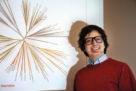 Kamran Shalchian-Tabrizi har brukt over 300.000 genomer (den opprinnelige arvemassen) for å gensekvensiere Collodictyon.