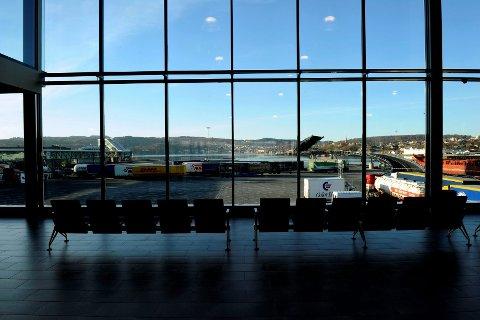 Color Lines bygde et moderne terminalbygg da Danmark-ferja flyttet fra indre havn til Revet i Larvik.