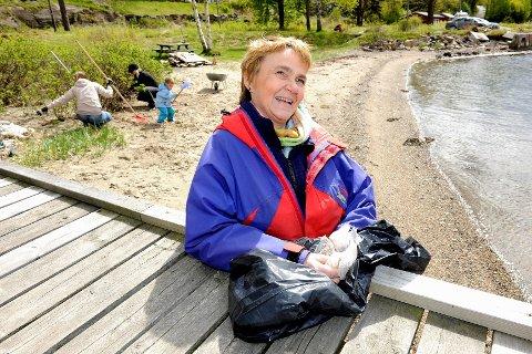 – Vi hadde håpet å få startet 10–12 ryddeaksjoner i 2011. Det endte med 200. I år er tallet så langt oppe i 300, sier Nancy Sand.