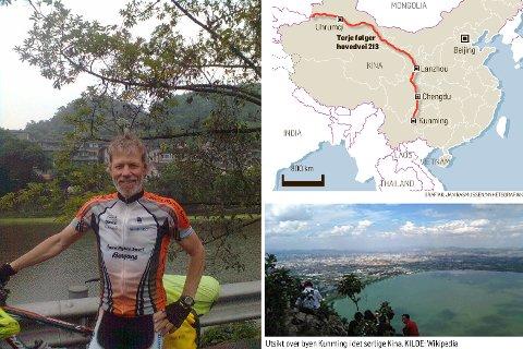 - Jeg føler nå at jeg har kommet litt tettere innpå folk. Dette har på en måte vært turens høydepunkt, forteller Asia-syklist Terje Kolbjørnsen.
