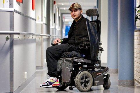Anders Behring Breivik i retten torsdag. -Mitt liv er uansett bedre enn hans, sa et av Utøya-vitnene om Breivik i retten – til tross for at den unge mannen fortsatt sitter i rullestol og mangler et bein og en arm på grunn av Breivik.