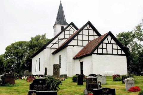 Borre kirke fylles med musikalsk melankoli.