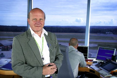Tidligere lufthavnsjef Alf-Reidar Fjeld.