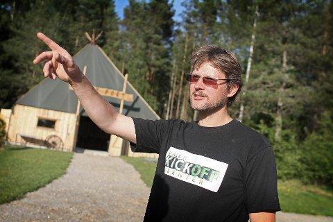 Ole Paulshus er fornøyd med senteret og omsetningen.