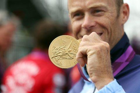 Slik ser gullmedaljen til nybakt olympisk mester Eirik Verås Larsen ut.