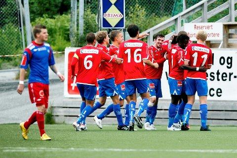 Sandefjord Fotball slo Tromsdalen 3-0 i 1. divisjonskampen i nord.