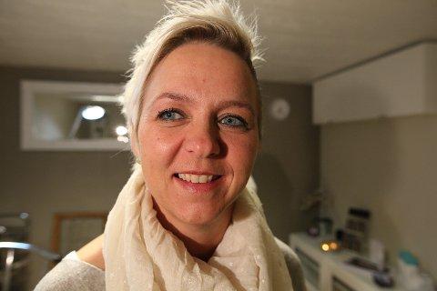 Her er Grethe Paulshus' venstre øyebryn på bildet stylet av Iverna Veidahl. – Løftet er viktig, sier Veidahl.