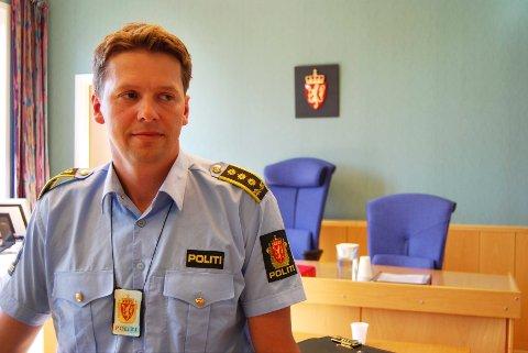 Politiadvokat Torje Arneson i retten.