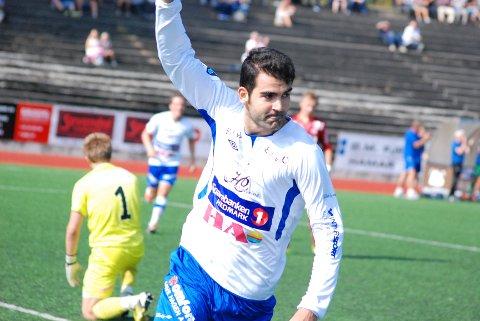 KANONDEBUT: Pablo Rodriguez brukte to minutter på å presentere seg på Sveum og scoret tre mål i sin debut.