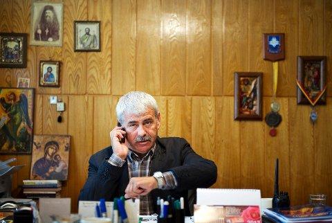 politisjef: Ion Tudor mener at rumenere  har fått et ufortjent dårlig rykte i Europa, og vil gjerne understreke at Romania er en kulturnasjon og at tiggere ikke er representative.