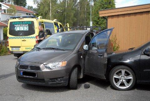 Kvinnen kan ha kommet borti gasspedalen da hun skulle ut av bilen.