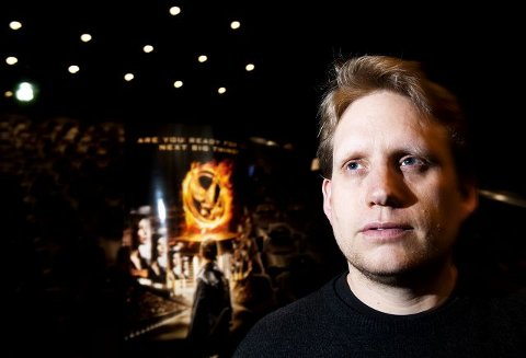 Kinosjef Jørgen Søderberg Jansen synes at 11-års grense på «The Hunger Games» er for lavt.