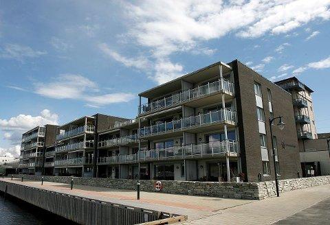Det nye planlagte Vansjø Boligbyggelag vil få over 14 400 medlemmer og blir dermed Østfolds største boligbyggelag. Moss BBL bidrar med 4600 leiligheter i 98 boligselskap. Sundstredet Brygge ble oppført i samarbeid med OBOS og USBL. foto jon-ivar fjeld