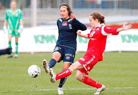 SPILLEKLAR: Ingvild Stensland er klar til kamp igjen. FOTO: ANETTE ANDRESEN