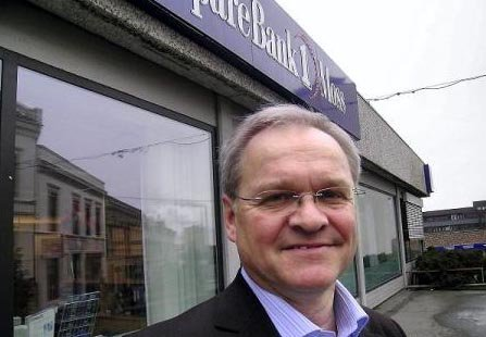 Administrerende direktør Ivar Listerud i SpareBank1 Østfold og Akershus, Ivar Listerud, advarer mot nettfisking.