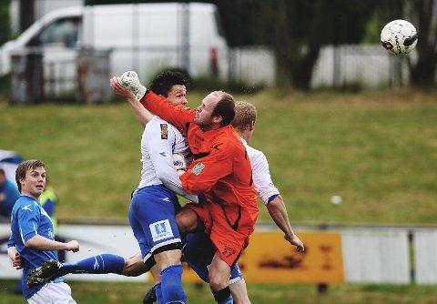 Her vinner Lasse Leth-Olsen duellen som gir Sprint 2-0 over Sarpsborg 08 II.