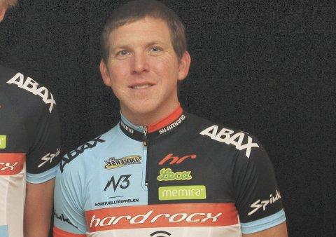 Greg Saw fra Kongsberg ser fram til sykkelfesten i Svelvik 8. juni.