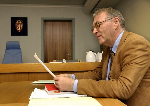 Advokat Arvid Eian forsvarte de to polakkene.