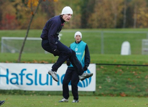 TILBAKE TIL START: Jørgen Jalland er klar for Ørn. Her fra en trening med Vålerenga. Foto: Marit Borgen