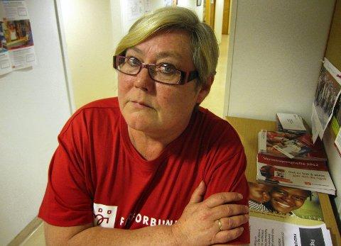 Sint Fagforbundets leder, Hilde Torgersen, liker ikke at rådmann Bente Hedum anbefaler konkurranseutsetting. Det er Orkerød sykehjem, renholdstjenesten og revisjonstjenester som kan bli konkurranseutsatt.
