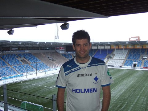 Morten Morisbak Skjønsberg spilte hele kampen da Norrköping slo GAIS 7-2.