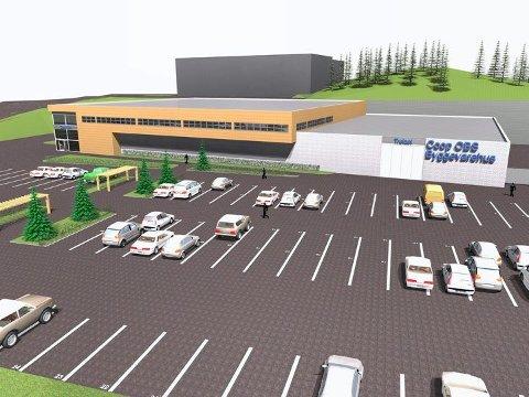 Coop Norge Eiendom ønsker å reise et byggevarehus på 4.000 kvadratmeter grunnflate og en høyde på syv meter like ved E18 på Fokserød.