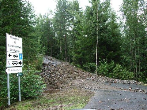 Store deler av området må ryddes opp og repareres etter stormen Fridas herjinger.