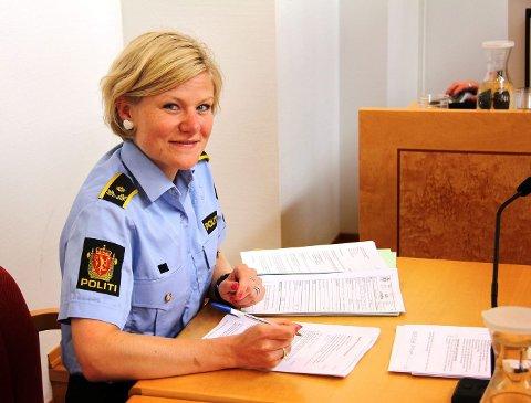 PÅSTÅR INNDRAGNING: Politiadvokat Margrethe Woie ved Asker politistasjon ga seg ikke på begjæringen om inndragning av bilen. FOTO: PER ERIK HAGEN