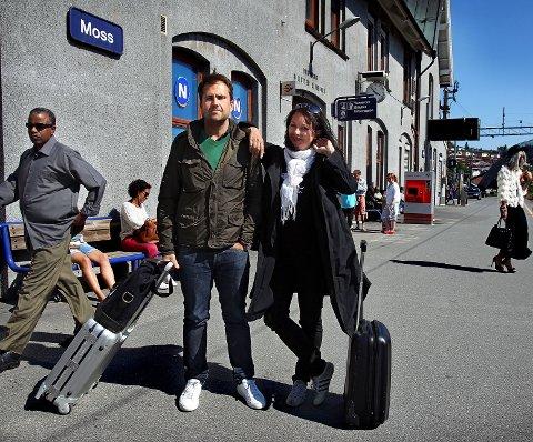 På farta Erlend Hammer fra Våler og norsk-svenske Power Ekroth deler biennalen i 2013 mellom seg. – På den måten blir det to forskjellige utstillinger. Vi har hver vår stil, men utfyller hverandre godt, sier de to kuratorene.