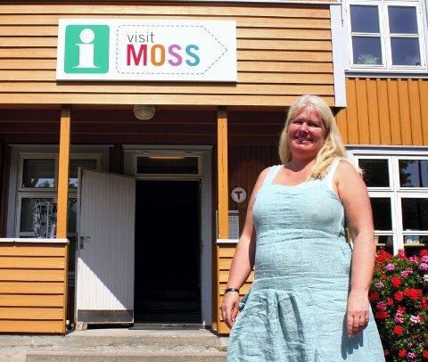 Morsom Unn Bøhm Tveito i Visit Moss synes ideen om en akvedukt er morsom.