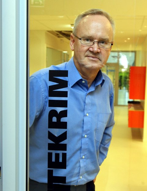STOR FANGST: Jan-Egil Kristiansen er skattekrimsjef i Skatt Øst. FOTO: KARL BRAANAAS
