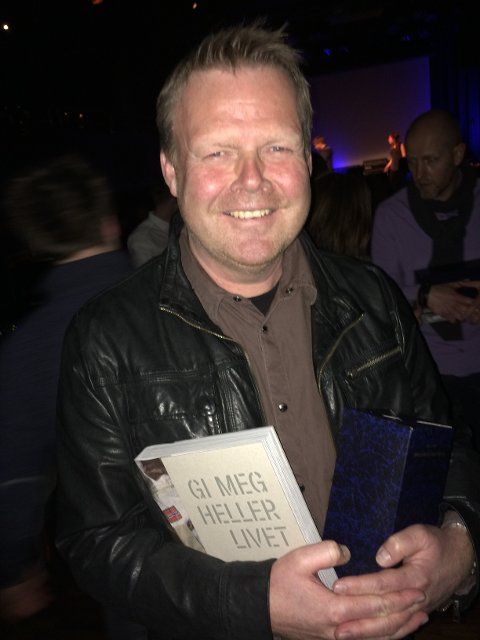 Geir Carlsson under fredagens arrangement i Oslo.