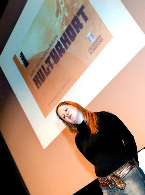Den unge politikeren Kathinka Bull-Engelstad tok I 2006 initiativet til å opprette et kulturkort for ungdom.