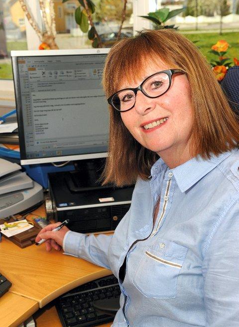 Anne Margrethe Dahlen er avdelingsleder for elevtjenesten ved SVGS. Foto: Olaf Akselsen