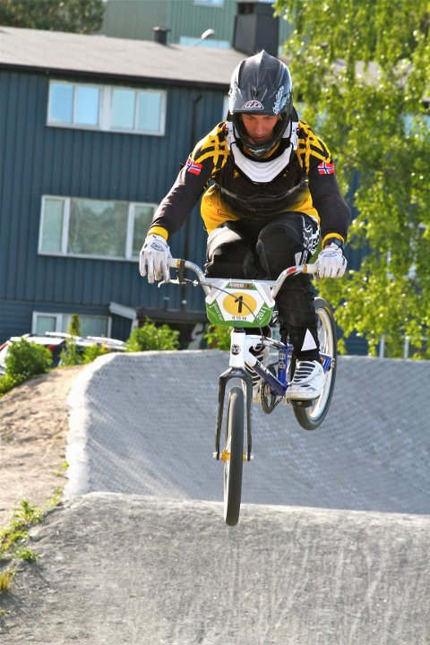På en god dag kan Erik Røseth fra Moss gå helt til topps i sin klasse.