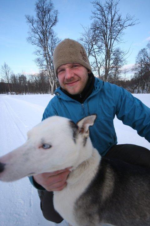 Magne Storstein gjør det bra i Finnmarksløpet. Foto: Privat