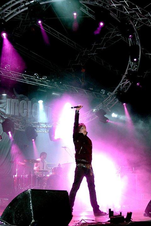 KLARE: Inglow har fått platekontrakt. Vokalist Martin Diesen sier bandet er klare til å presentere materialet sitt for markedet.