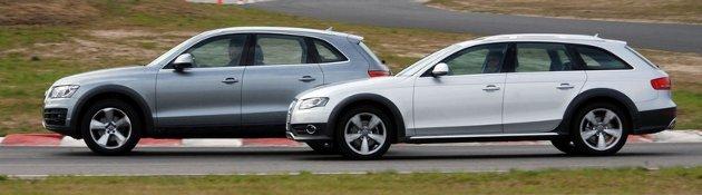 Begge kjører svært godt, men Allroad kjører best.