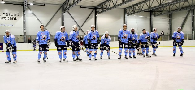 Haugesund Seagulls vant 9-0 i Haugesund ishall.