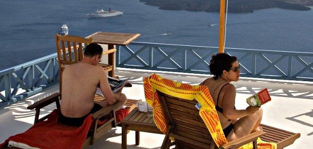 Vanlige boliger i konkurstruede Hellas er blitt rimeligere.