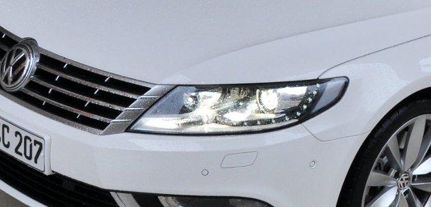 Man blir rett og slett glad og i godt humør bare av å se på VW CC.