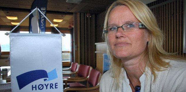 TROR: Berit Nordseth Moen tror nå at arkivet kommer til Tynset.