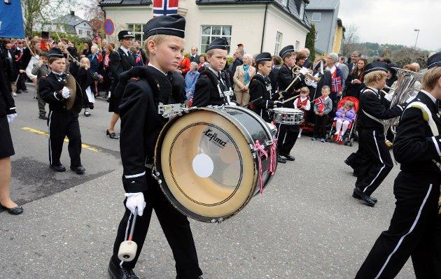 Framnes musikkorps juniorkorps.