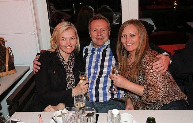 Julie,Roar og Caroline