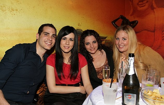 Miguel,Inma,Monica,Fernandez og Karoline